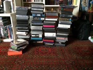 Alle meine DVDs. Aussortiert wurde nur ein ganz bißchen.